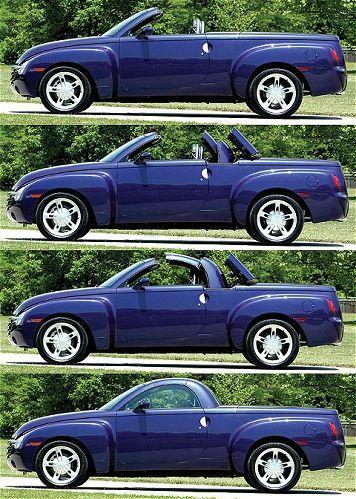 Chevrolet Ssr Pickup Convertible Chevrolet Ssr Vintage Pickup