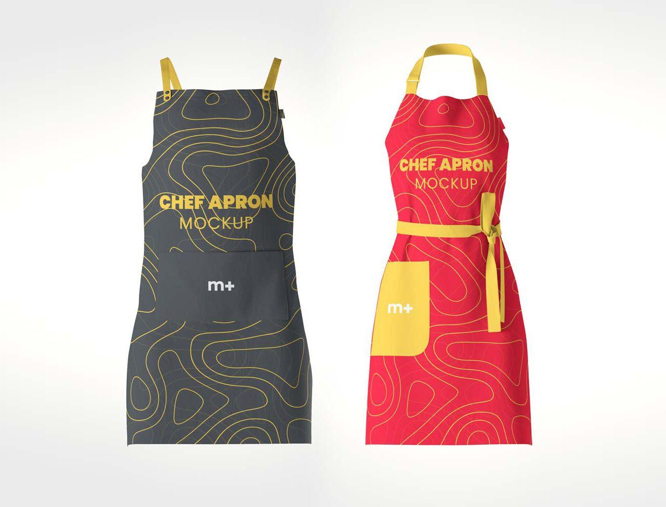Chef Kitchen Apron Mockup Apron Kitchen Aprons Shirt Mockup