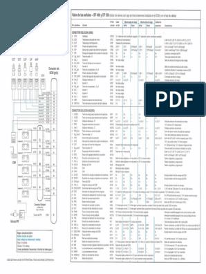 Diagrama Maxxforce Diagnosticos Del Sistema De Control Electronico Ingenieria Mec Diagrama De Circuito Electrico Conectores Electricos Diagrama De Circuito