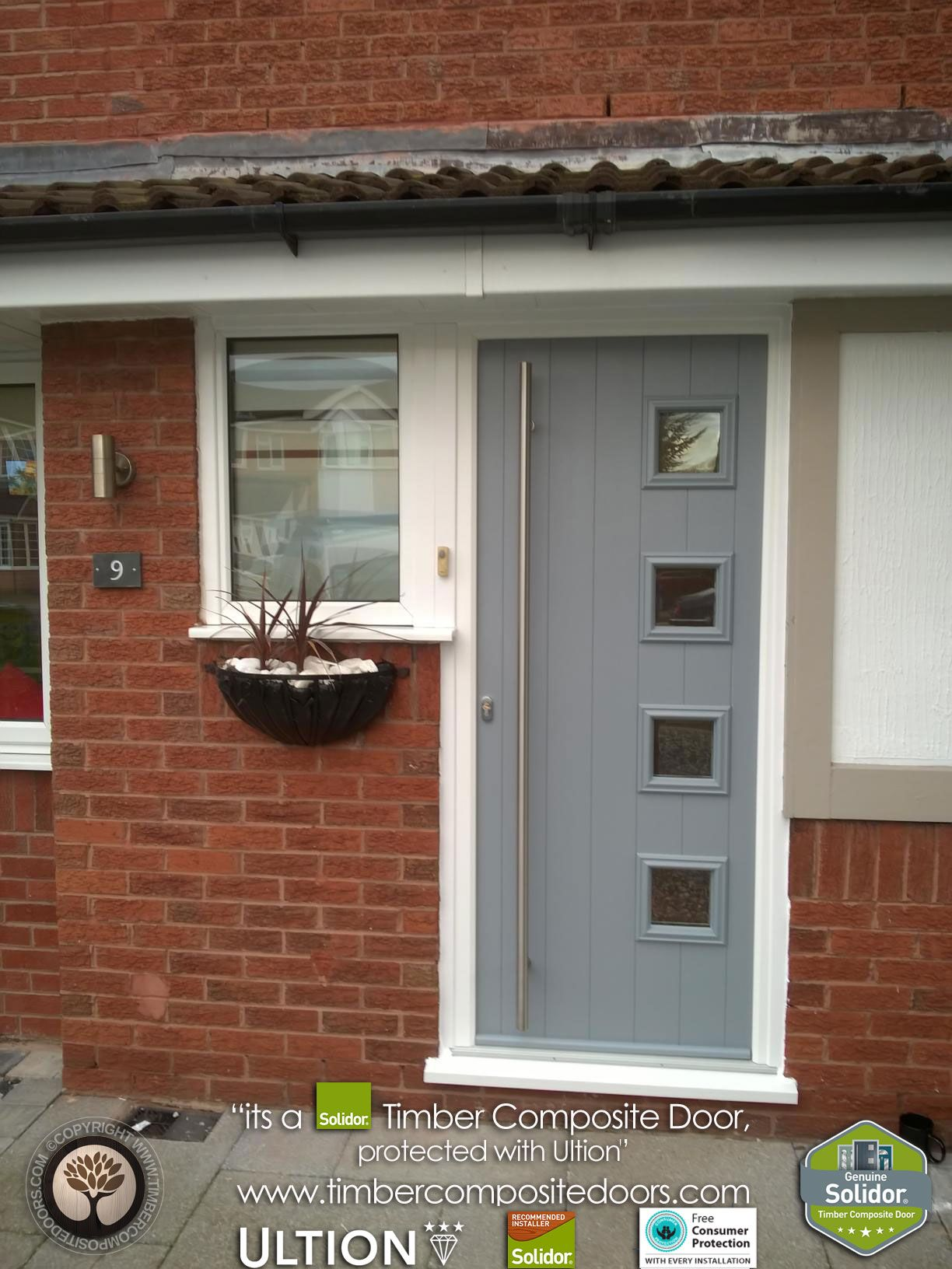 French grey milano solidor timber composite door with ultion lock french grey milano solidor timber composite door with rubansaba