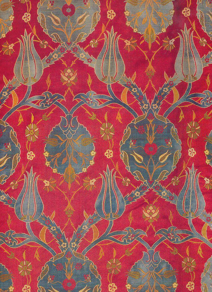 Ottoman Silk Textile, Topkapi Museum