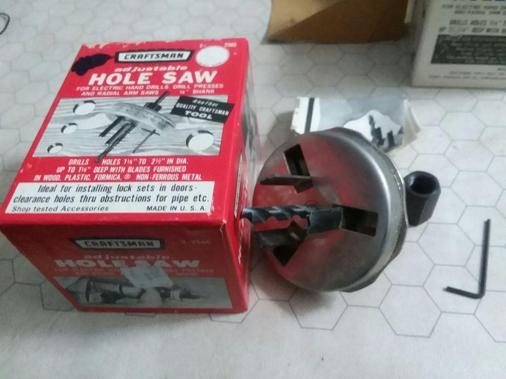 Vintage Hole Saw