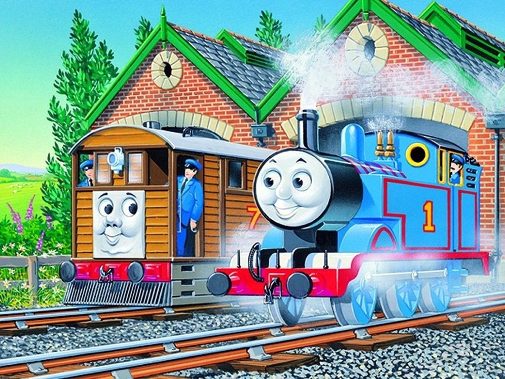 thomas the tank engine friends hd wallpapers backgrounds 1024×768