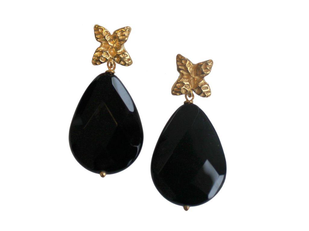 Kirsten Goss - Sato single drop earrings