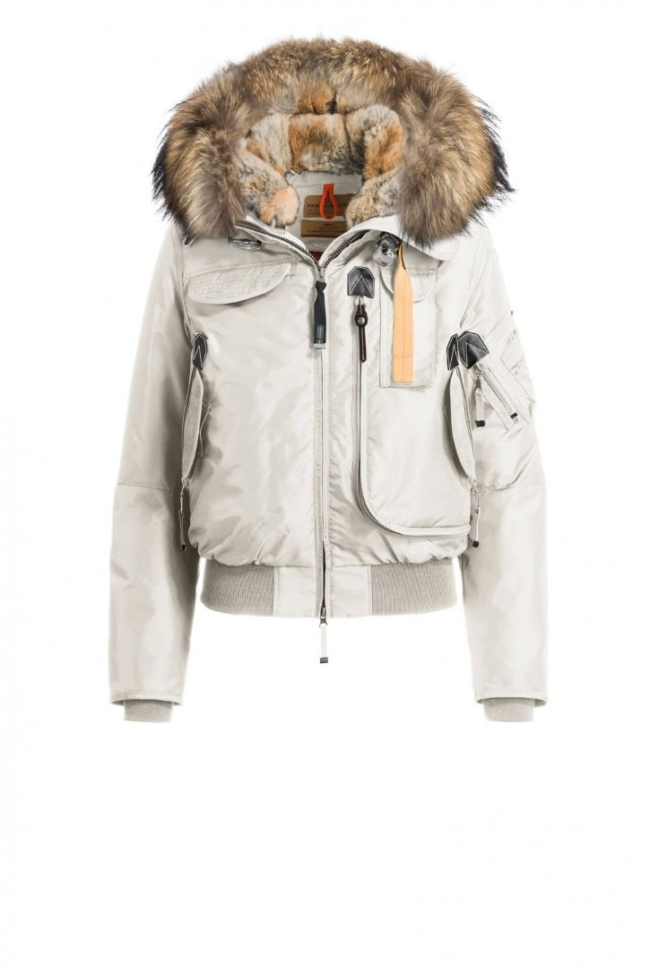 ... parajumpers gobi jacket with raccoon and rabbit fur lined hood. i am not a fan