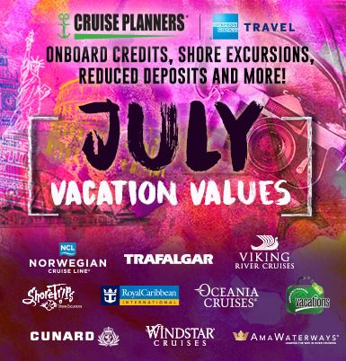 I spy with my little eye…great travel options for July! Pick up the