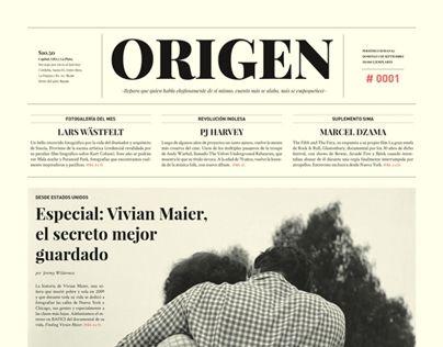 ORIGEN / Periódico - Newspaper