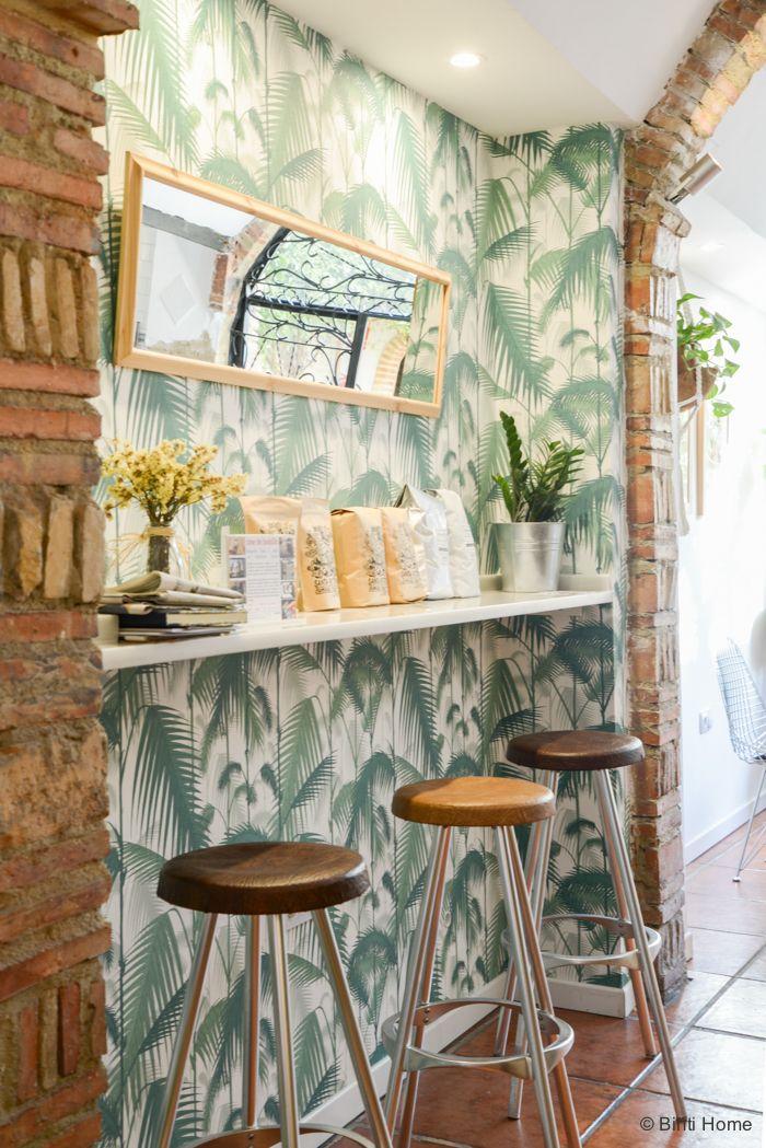 Modern spaans interieur bij bluebell coffee in valencia for Vakantiehuis inrichten