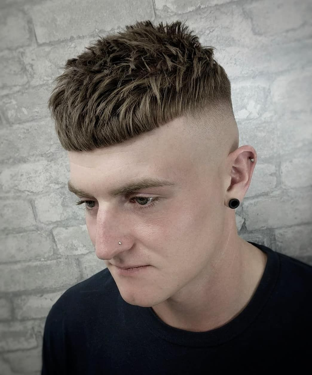 Mens Hairstyles 2019 100+ Best Haircuts Gallery | Barber color in ...