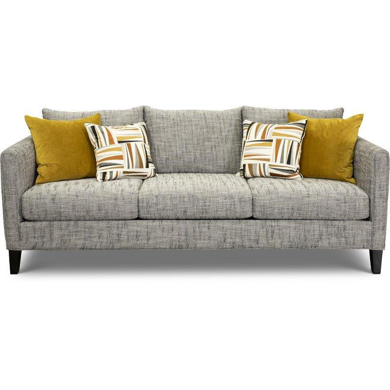Contemporary Charcoal Gray Sofa Kate In 2020 Gray Sofa Sofa Charcoal Grey