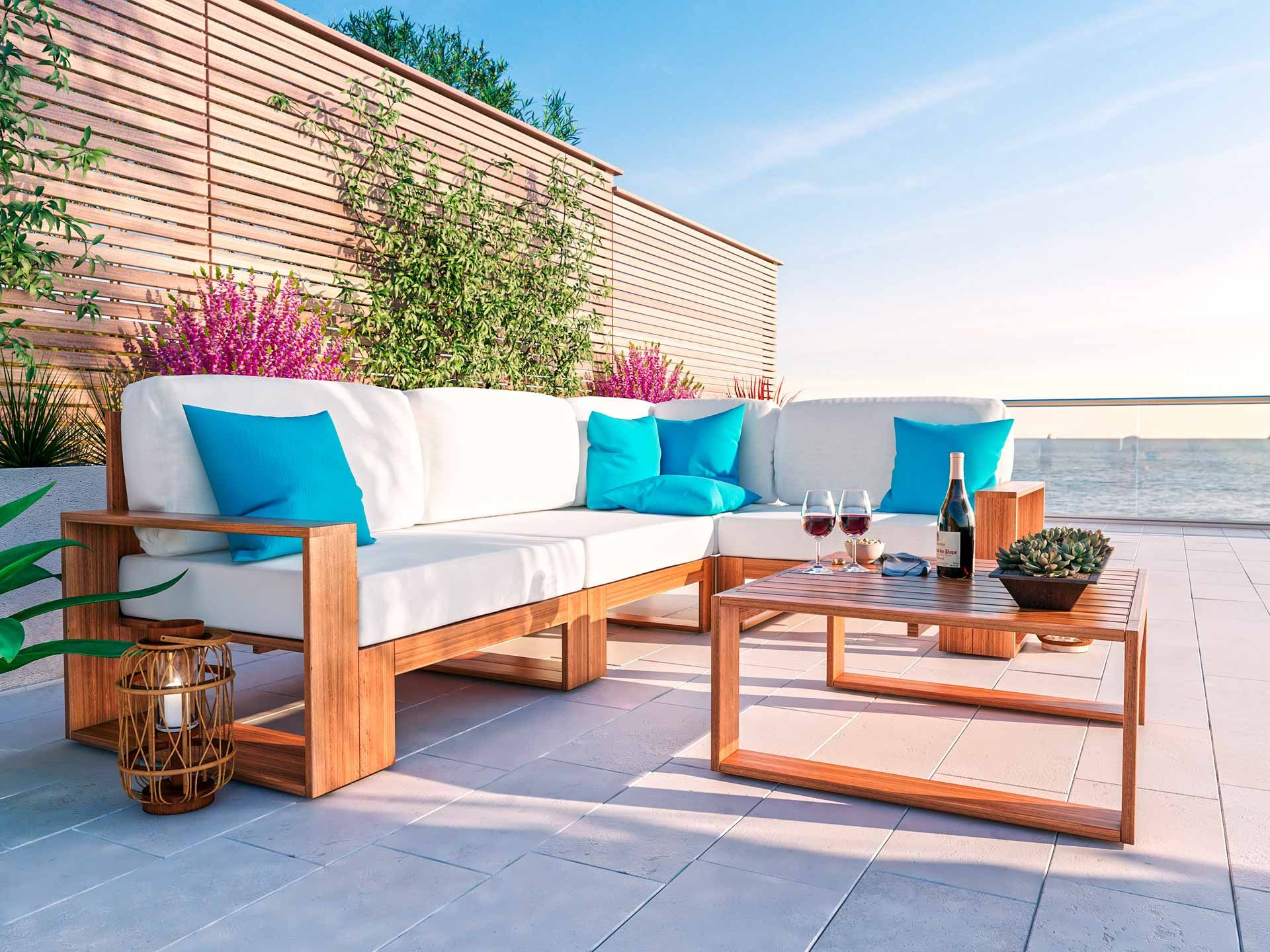 Mauritio Lounge Mobel Gartenmobel Design Aussenmobel