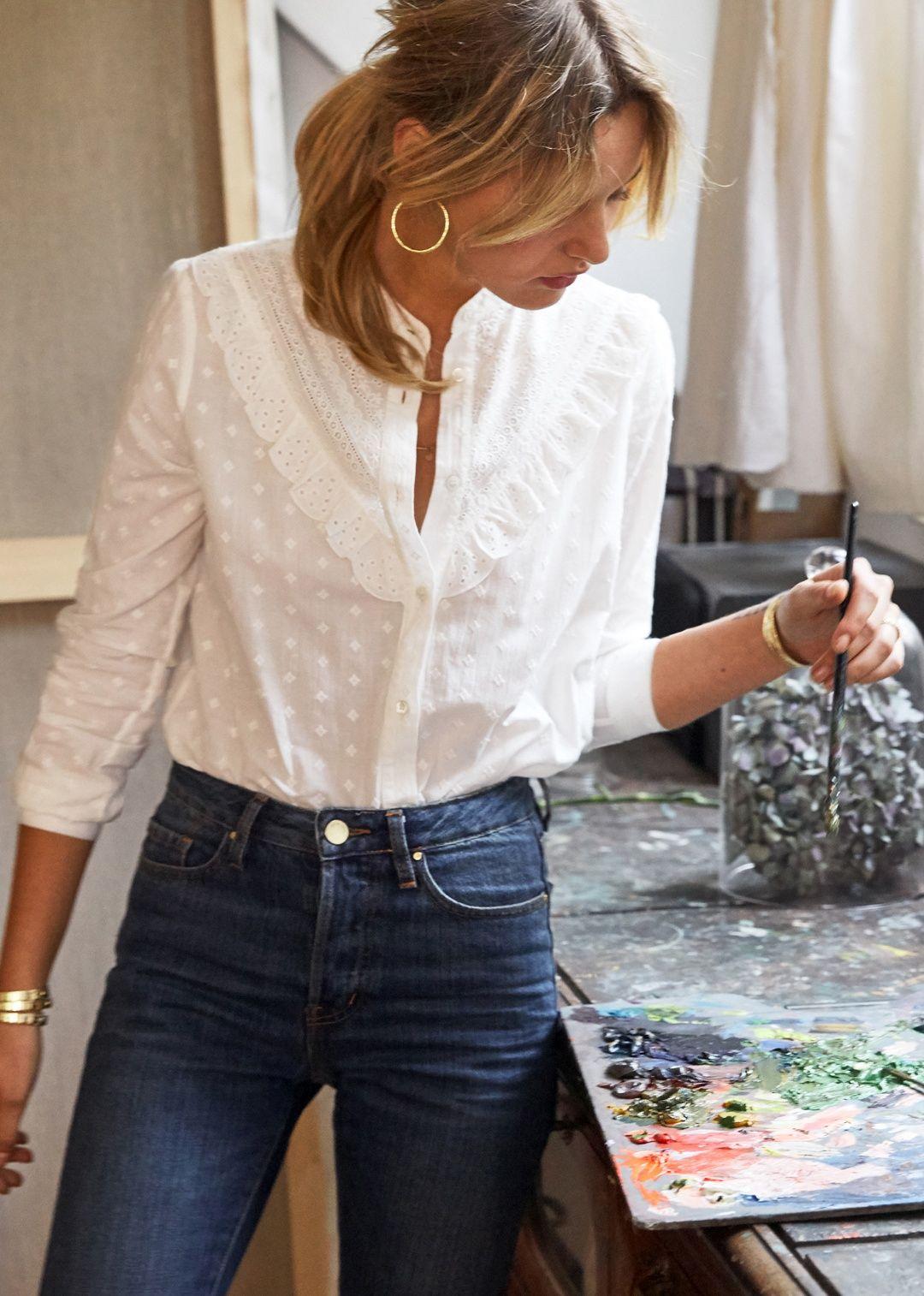 Sezane Chemise Leo Vetements En 2018 Pinterest Mode