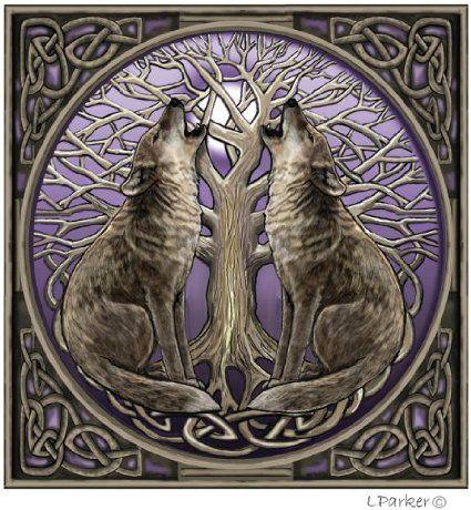 """Résultat de recherche d'images pour """"arbre de vie et loup"""""""