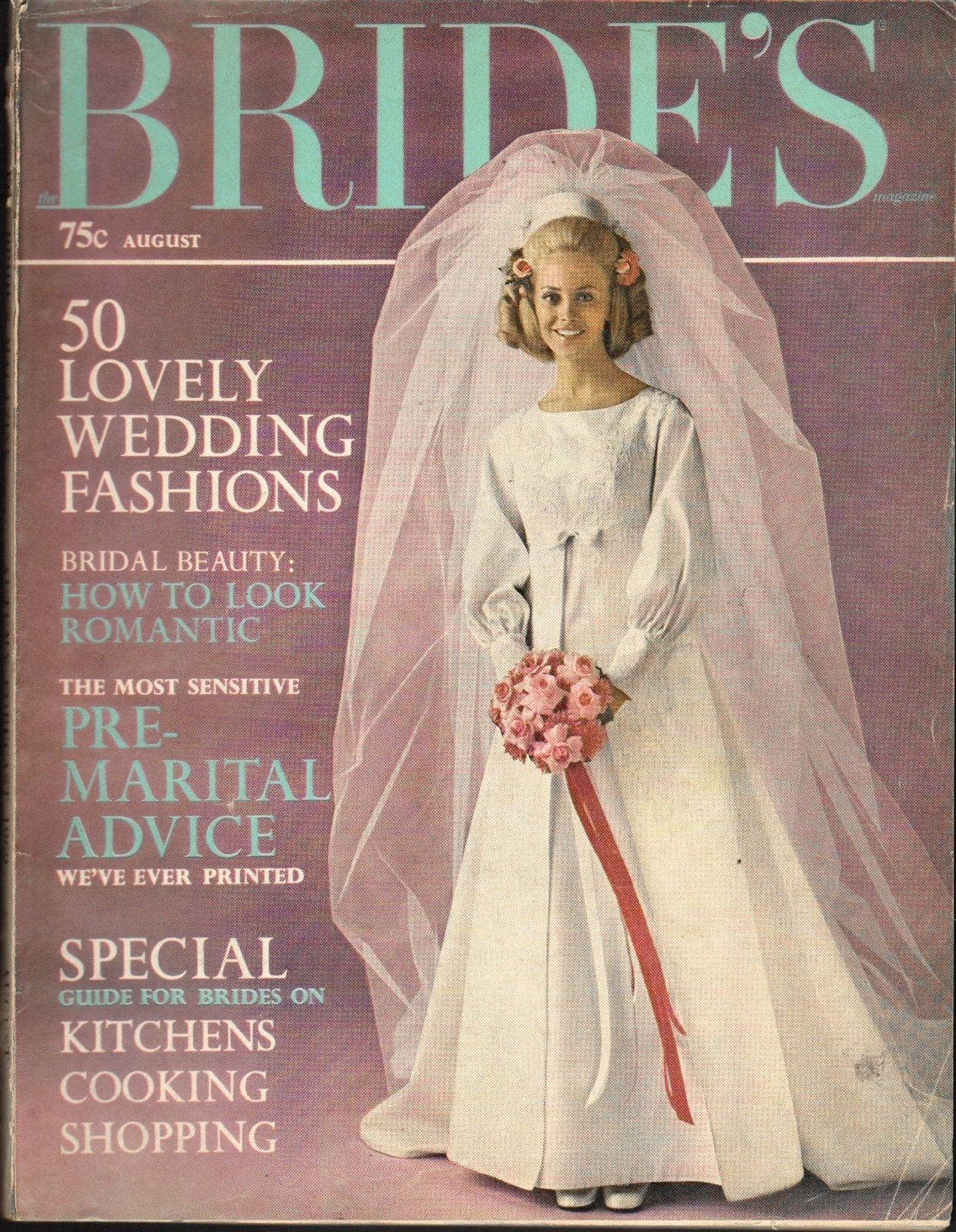 Vintage Bridal Magazines From The 1960 And 1970 Back Issues