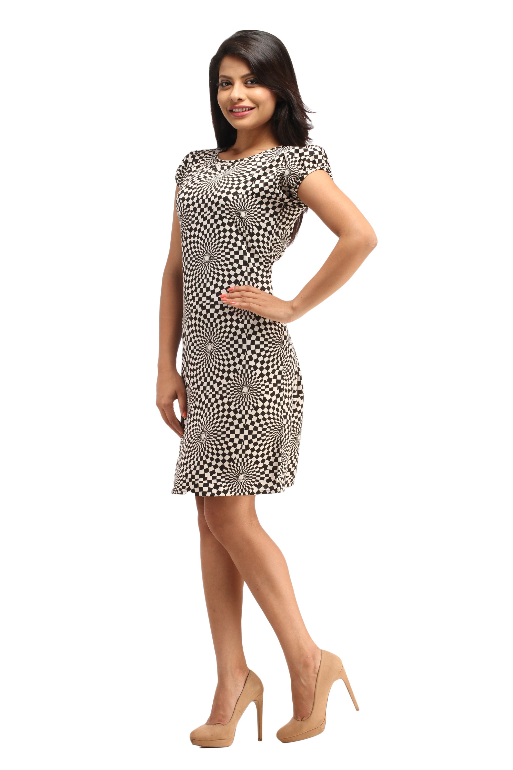 Shop Online for Cottinfab Women s Short Dress in India at Voonik.com ... ad65c0be6
