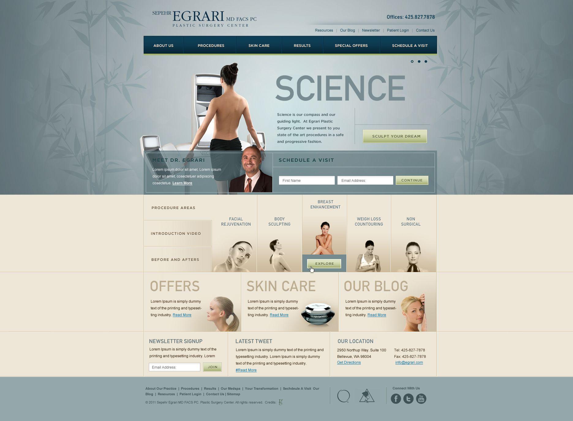 Plastic Surgeon Website Website Webdesign Design Medical Websites Web Design Design Working