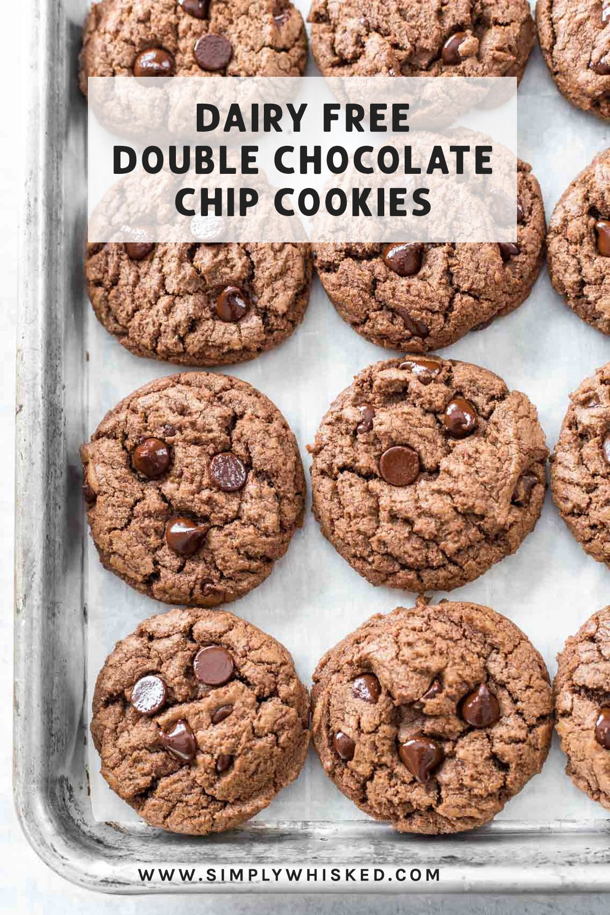 Chocolate Chocolate Chip Cookies | Recipe | Dairy free ...