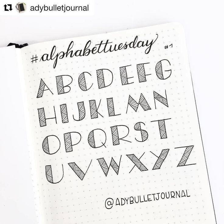 Pin by Shadow on Letter font Bullet journal font