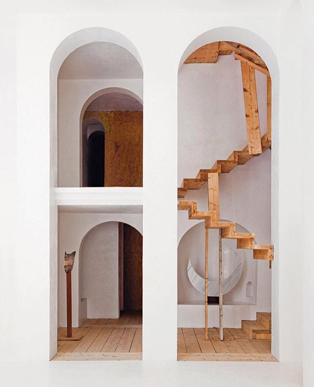 Modern Architecture Arches arches & stairways ~ labyrinth home designedxavier corberó