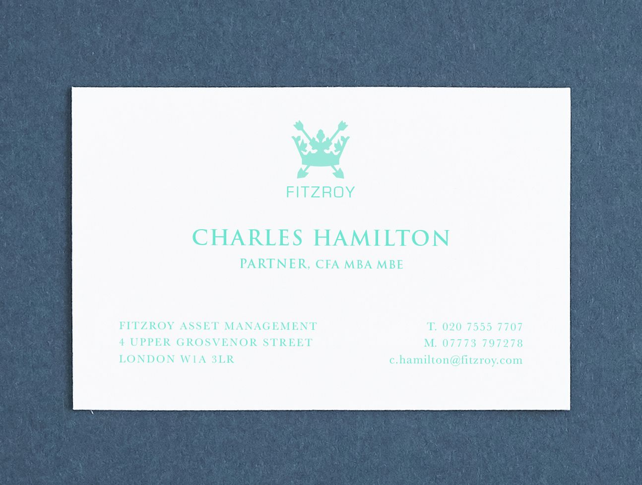 Printed Name Cards Custom Made Business Cards Personalised Professional Calling Cards Business Stationery Mint Green Make Business Cards Business Stationery Personal Business Cards