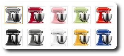 Superb Check Out All The Artisan Mini Mixer Colors That Are Home Interior And Landscaping Ologienasavecom