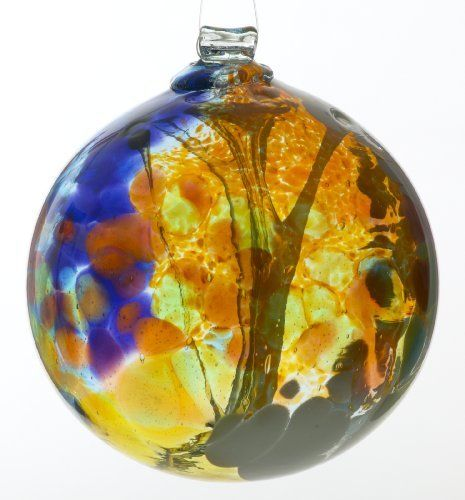 Kitras 6-Inch Fairy Orb Art Glass, Amber by Kitras Art Glass. $40.95. Recycled glass. Can be used outdoors and indoors. Unique Gift. These Fairy Orbs are a wonderful accent piece and a perfect gift to lift the spirit, inviting well-being and positive energy into your surroundings. Imagine fairies dancing among the vibrant colors and enticing good fortune to all who take pleasure in this beautiful ornament.