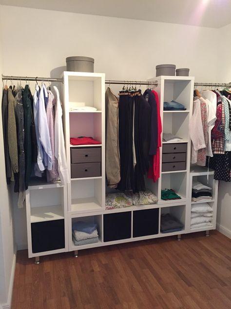 3 Unterschränke 2 Oberschränke verbunden mit einer Kleiderstange - ikea küchen unterschränke