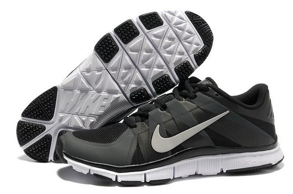 2014 Latest Nike Free Trainer 5.0 Mens Black Silver #black #shoes