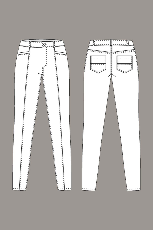 инлайн джинсы технический рисунок последнее время болезнь