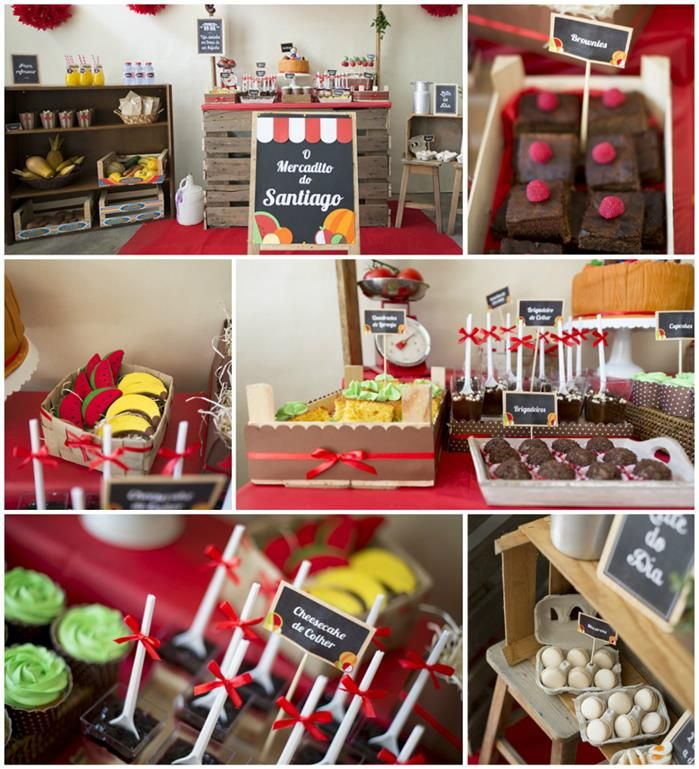 Darling Farmer's Market Themed Birthday Party with Such CUTE IDEAS via Kara's Party Ideas | KarasPartyIdeas.com