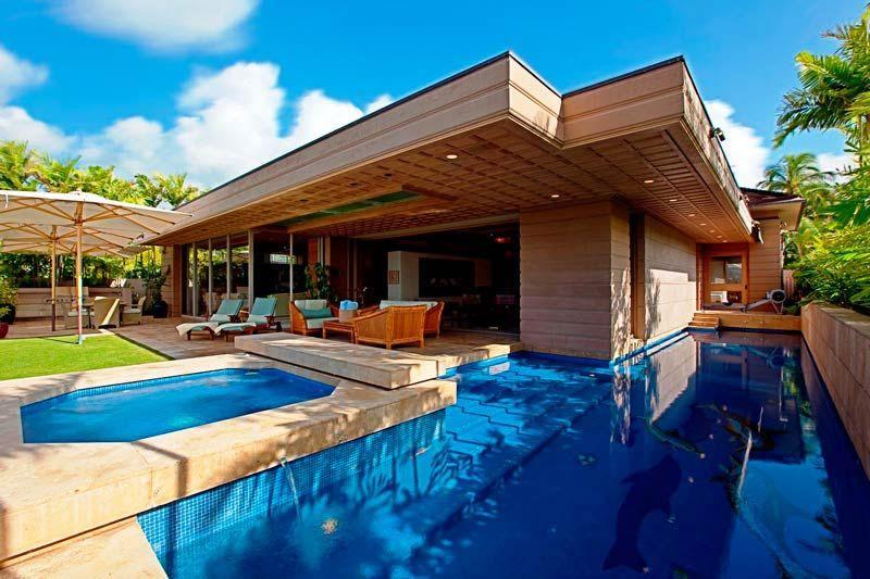 Wailupe Oceanfront Villa Honolulu Oahu Villas Hawaii Villas