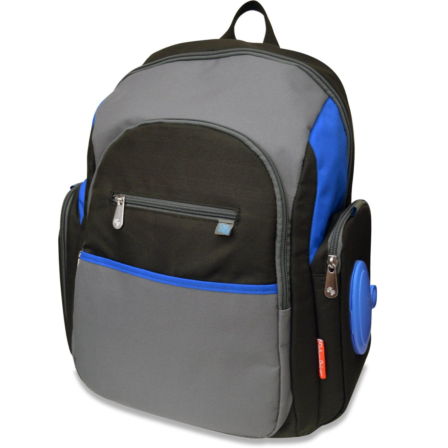 c3ac1fa0b266 Amazon.com   Fisher-Price FastFinder Diaper Backpack with Locket Feature   Diaper  Tote Bags   Baby