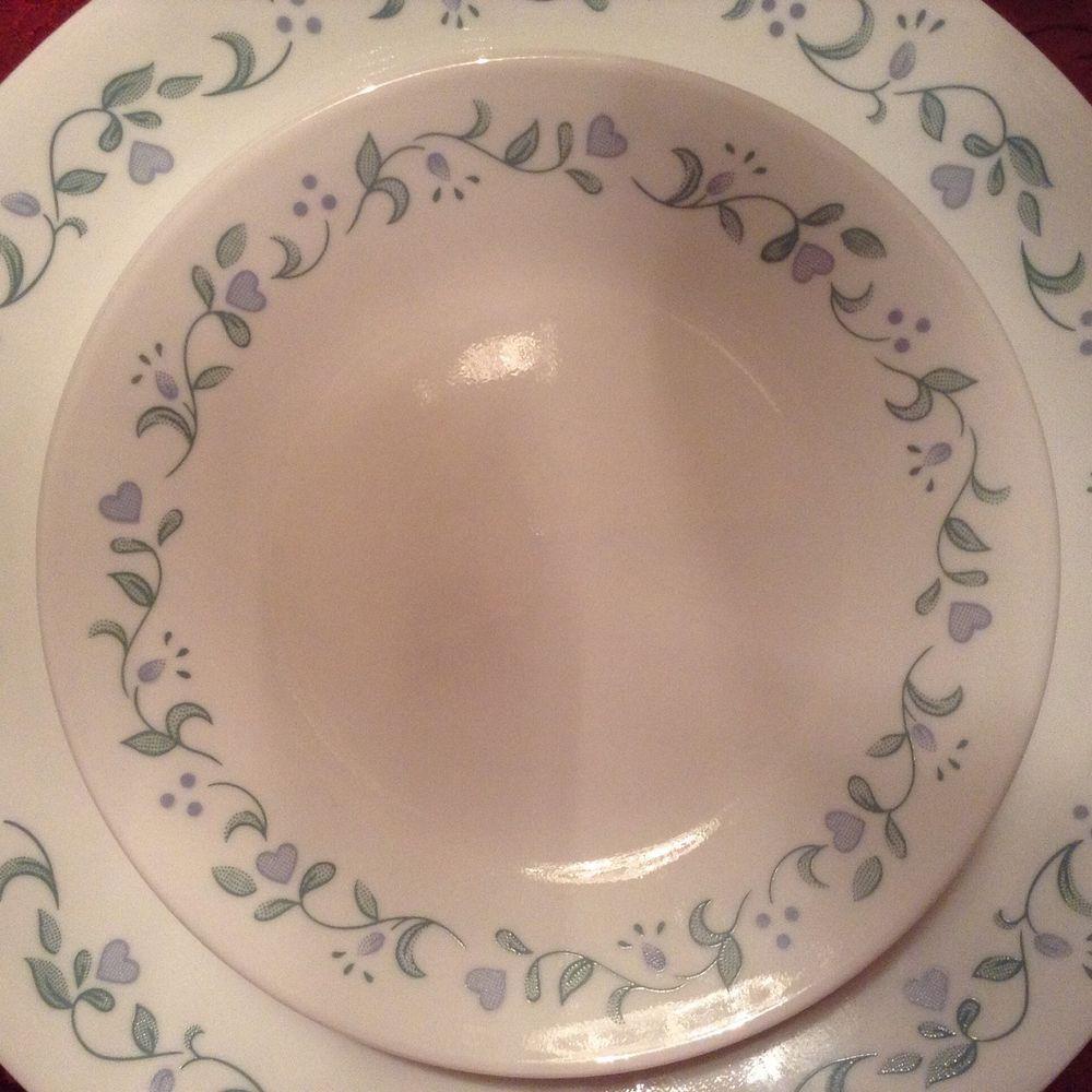 stoneware rnd corelle cottages dinnerware solid pc livingware blue dishes light l mug country cor set cottage