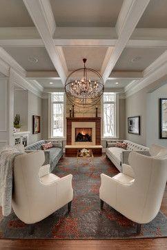 Graham Hill Residence - traditional - living room - minneapolis - Eskuche Design