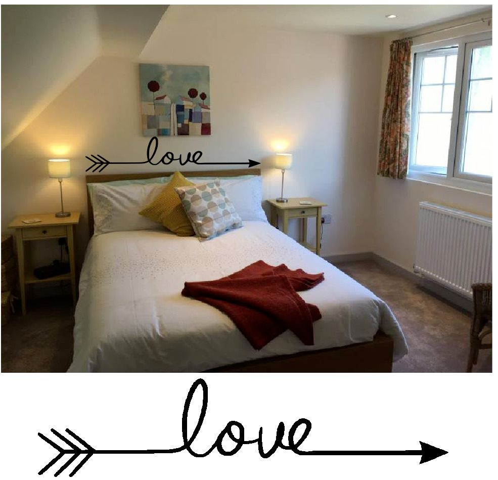 Love removable wall stickers art vinyl quote decal mural