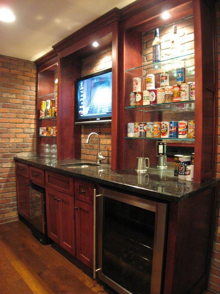 20+ Kitchen Basement Ideas Basement Kitchenette Bar ...