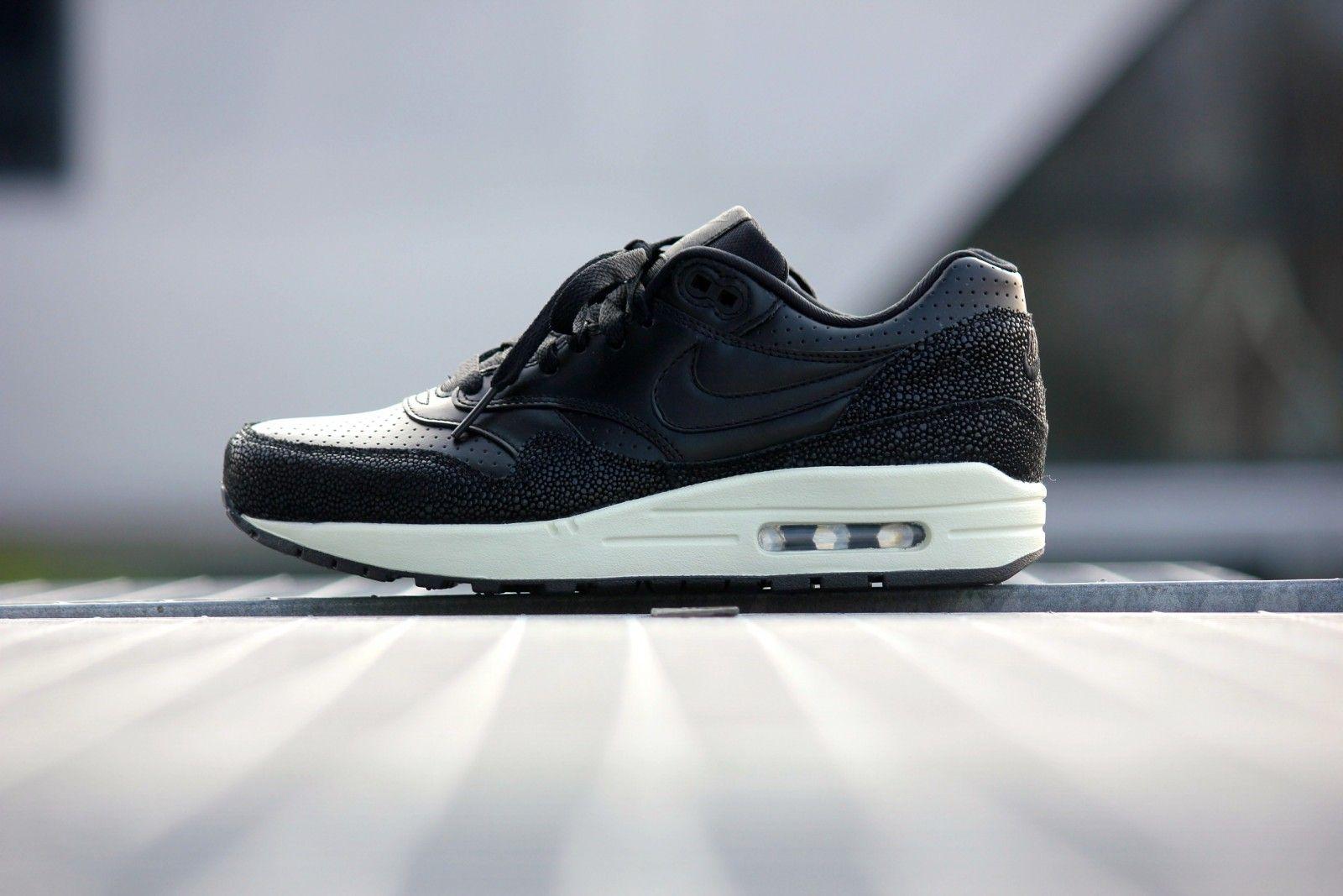 Nike Air max 1 LTR PA Stingray Black Black - 705007-001