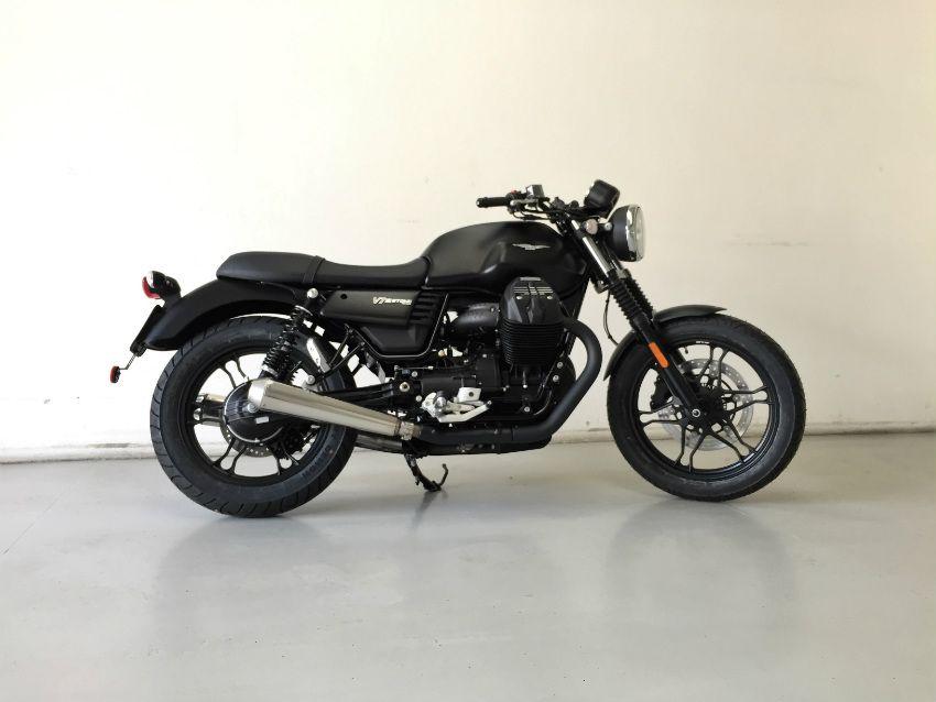 Short Exhausts Moto Guzzi V7 Iii Mistral Special Parts Moto Guzzi Exhausted Moto