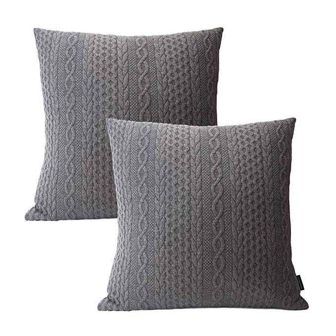 Gold Foil Feather Quality Pillow Covers x 2 with zippers Super Classy