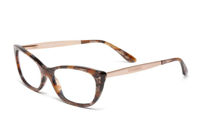 Clear Lens Glasses Striped Fashion Rectangular Frame Stripe Temple Clear Lens