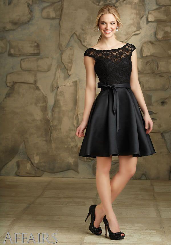 aa6f203528f7d Vestidos cortos para damas de Affairs