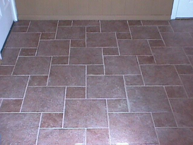 patterns for laying tile   RE: Do you have tiled floors in your ...