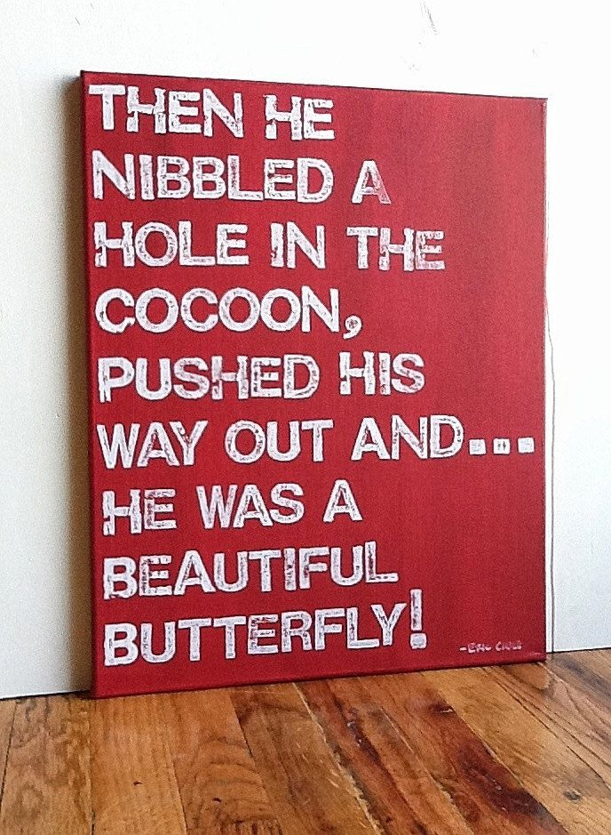 3 The Very Hungry Caterpillar Quote Red And White