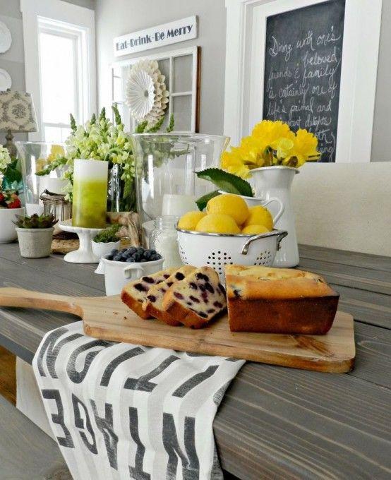 inspiring spring kitchen decor ideas
