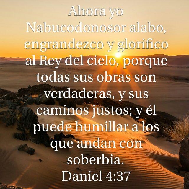 Versiculos Biblicos De Promesas De Dios: Galeria De Versiculos Biblicos: Daniel 4:37