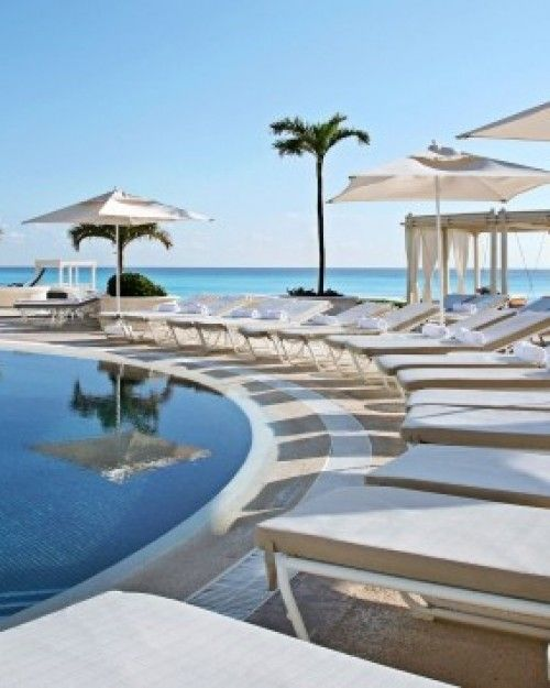 I Want To Be A Beach At Sandos Cancun Luxury Resort Mexico Jetsetter