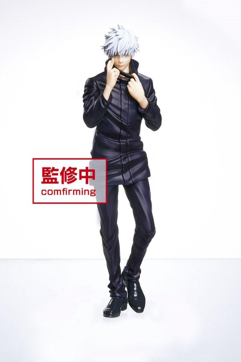 Satoru Gojo Unmasked Ver Jujutsu Kaisen Prize Figure In 2021 Jujutsu Figures Frame Arms Girl