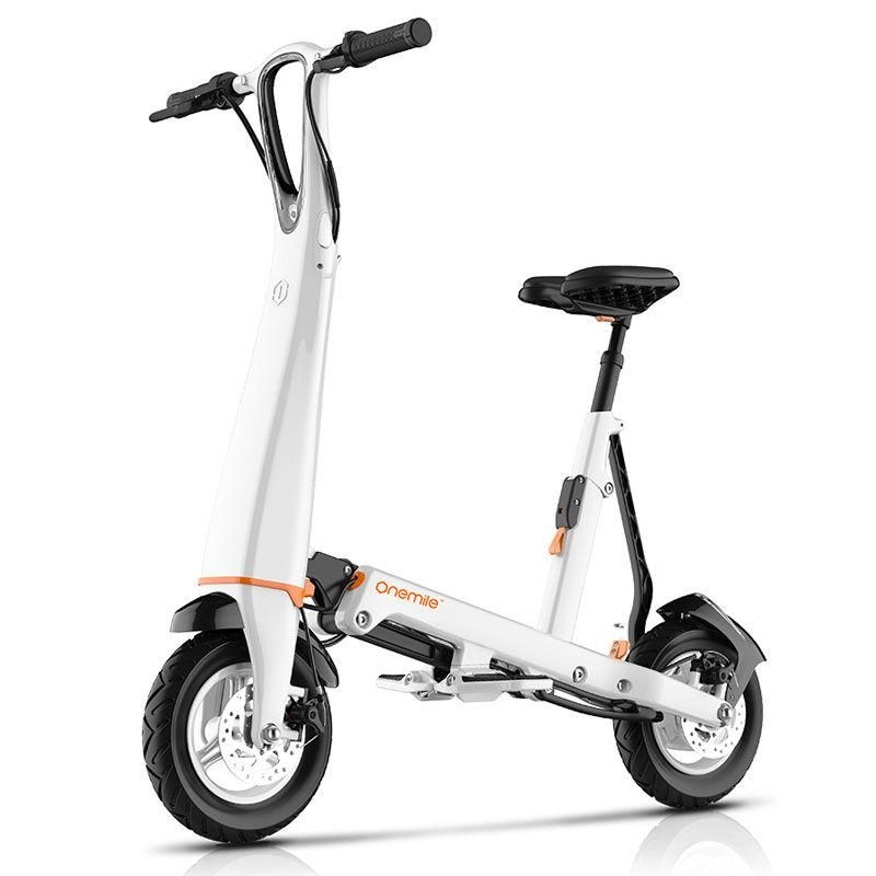 Onemile Halo City Electric Scooter Folding Electric Scooter Electric Scooter With Seat Electric Scooter