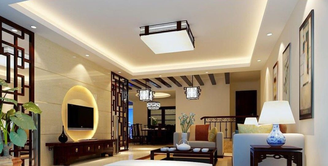 Living Room:Modern Chinese Interior Living Room Apartment Tv ...