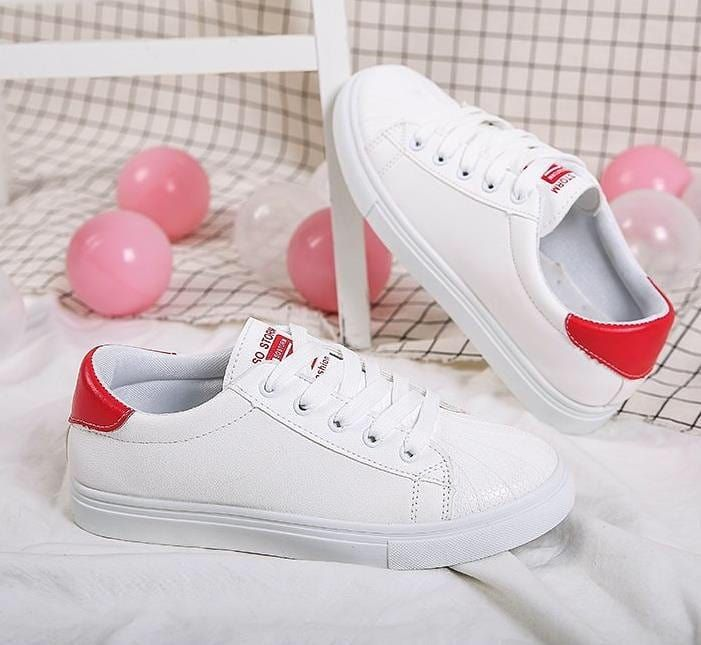Harga Rp180 000 Fv Brand Sepatu Sneakers White Bee Type 8833